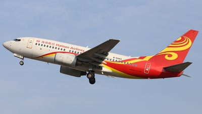 A picture of B5060 - Boeing 73776N - Hainan Airlines - © SS90094