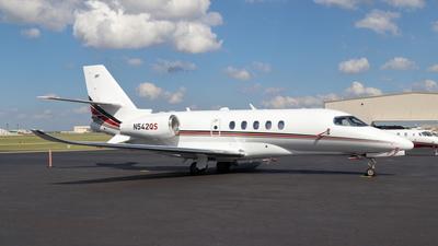 A picture of N542QS - Cessna 680A Citation Latitude - NetJets - © Cam