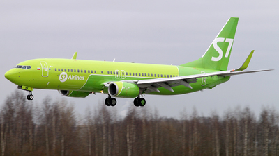 A picture of VQBKV - Boeing 7378ZS - S7 Airlines - © Malyshev Andrei