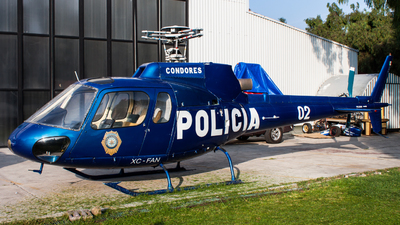 XC-FAN - Eurocopter AS 350B2 Ecureuil - Mexico - Police