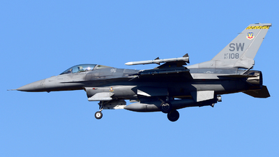 97-0108 - Lockheed Martin F-16CJ Fighting Falcon - United States - US Air Force (USAF)
