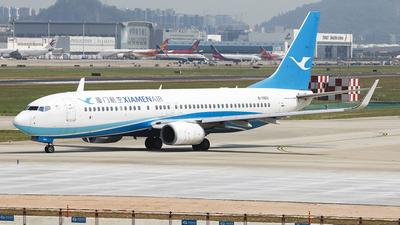 A picture of B1969 - Boeing 73785C - Xiamen Air - © Luo Chun Hui