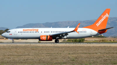 C-FFPH - Boeing 737-81D - Sunwing Airlines