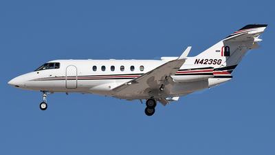 N423SG - Hawker Beechcraft 800XP - Private