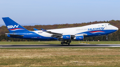 4K-SW800 - Boeing 747-4R7F(SCD) - Silk Way West Airlines