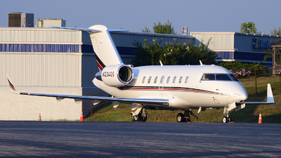 N234QS - Bombardier CL-600-2B16 Challenger 650 - NetJets Aviation