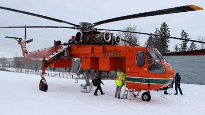 N176AC - Sikorsky S-64E Skycrane - Erickson Air-Crane