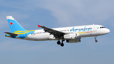 P4-AAD - Airbus A320-232 - Aruba Airlines