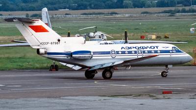 CCCP-87987 - Yakovlev Yak-40 - Aeroflot