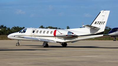 A picture of N721T - Cessna 550 Citation Bravo - [5500993] - © Carlos Alberto Rubio Herrera