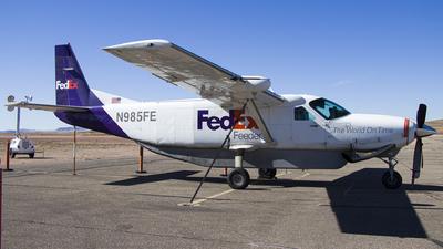N985FE - Cessna 208B Super Cargomaster - FedEx Feeder (West Air)