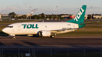 ZK-TLD - Boeing 737-3B7(SF) - Airwork New Zealand