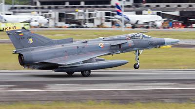 FAC3061 - IAI Kfir C12 - Colombia - Air Force