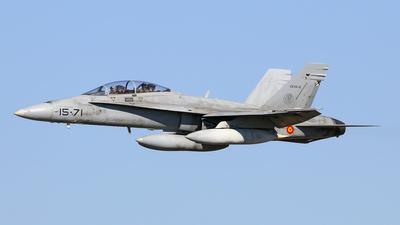 CE.15-2 - McDonnell Douglas EF-18B+ Hornet - Spain - Air Force