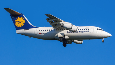 D-AVRE - British Aerospace Avro RJ85 - Lufthansa Regional (CityLine)