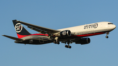 A picture of B220H - Boeing 76736N(ER)(BCF) - SF Airlines - © kuailedeann