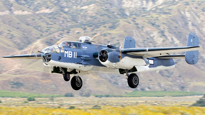 N5865V - North American PBJ-1D Mitchell - Commemorative Air Force