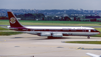 A7-AAA - Boeing 707-3P1C - Qatar - Amiri Flight