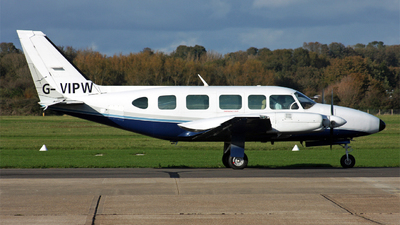 G-VIPW - Piper PA-31-350 Navajo Chieftain - Flight Calibration Services (FCS)