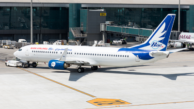 OM-IEX - Boeing 737-8BK - Badr Airlines (Air Explore)