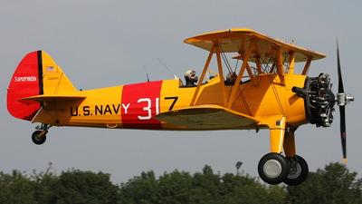 N86600 - Boeing PT-17 Kaydet - Private