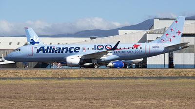 N912QQ - Embraer 190-100IGW - Alliance Airlines