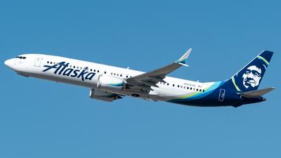 N920AK - Boeing 737-9 MAX - Alaska Airlines