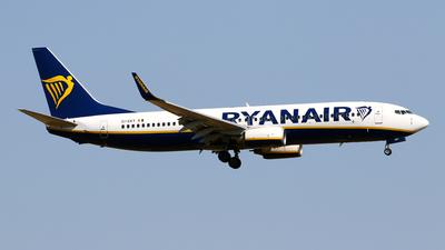 A picture of EIEKY - Boeing 7378AS - Ryanair - © Javier Rodriguez - Amics de Son Sant Joan