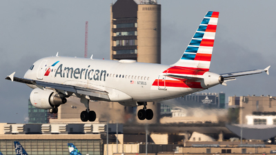 A picture of N738US - Airbus A319112 - American Airlines - © HAOFENG YU