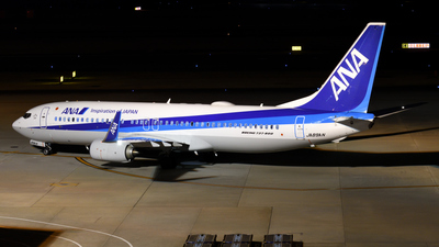JA89AN - Boeing 737-8AL - All Nippon Airways (ANA)