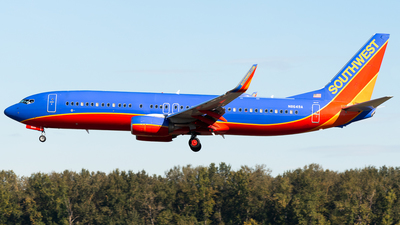 A picture of N8649A - Boeing 7378H4 - Southwest Airlines - © Nick Sheeder