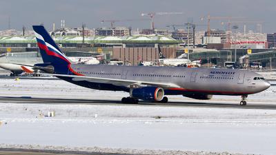 VP-BDE - Airbus A330-343 - Aeroflot