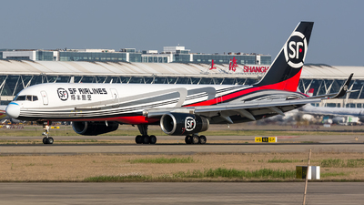 A picture of B205S - Boeing 7572B7(PCF) - SF Airlines - © BobH