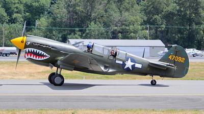 NL293FR - Curtiss TP-40N Warhawk - Private