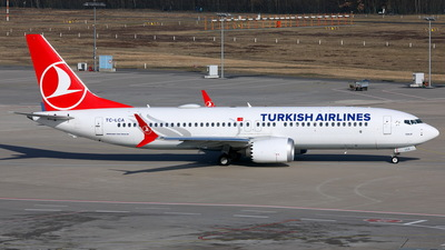 TC-LCA - Boeing 737-8 MAX - Turkish Airlines