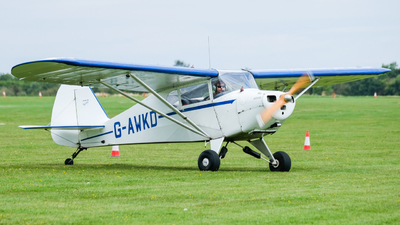 G-AWKD - Piper PA-17 Vagabond - Private