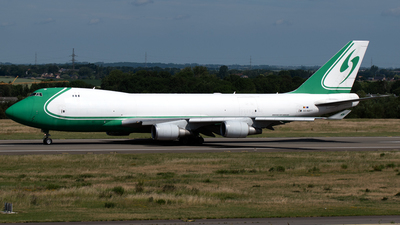 A picture of OOACF - Boeing 7474EVF(ER) - ACE Belgium Freighters - © PAUL LINK
