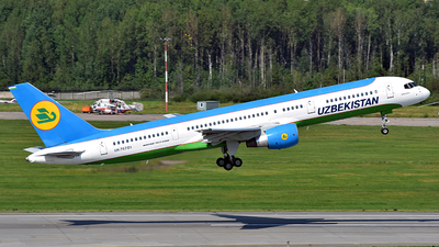 UK75701 - Boeing 757-23P - Uzbekistan Airways