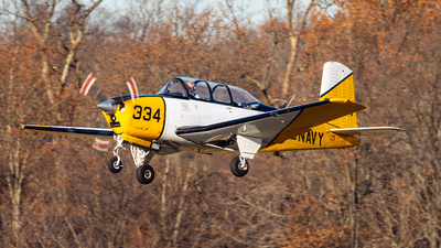 N3VY - Beech D-45 Mentor - Private