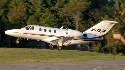 N672JM - Cessna 525 CitationJet - Private