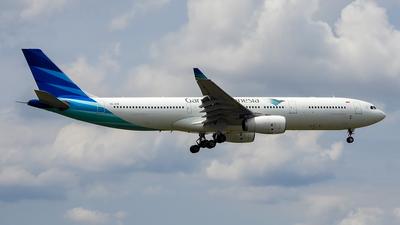 PK-GPW - Airbus A330-343 - Garuda Indonesia