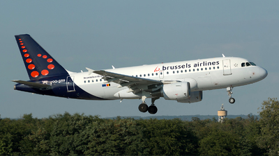 A picture of OOSSS - Airbus A319111 - Brussels Airlines - © Szabó Imre