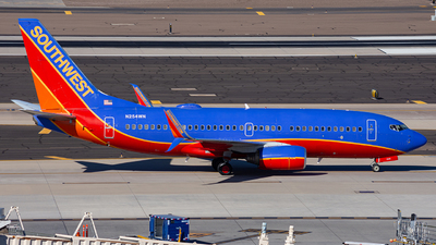 A picture of N245WN - Boeing 7377H4 - Southwest Airlines - © Alexander Owen