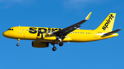 A picture of N647NK - Airbus A320232 - Spirit Airlines - © Michael Place