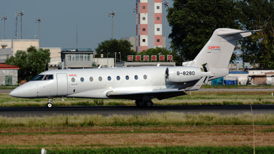 B-8280 - Gulfstream G280 - Mandarin Air