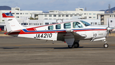JA4210 - Beechcraft A36 Bonanza - SGC Saga Aviation