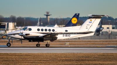 D-IBAD - Beechcraft B200 Super King Air - PTL Luftfahrtunternehmen