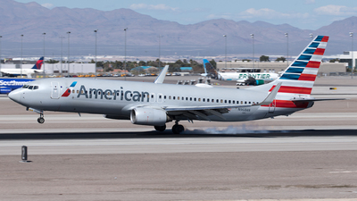 A picture of N968AN - Boeing 737823 - American Airlines - © Yixin Chen