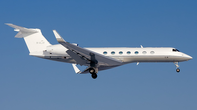 M-ALAY - Gulfstream G-V(SP) - Private