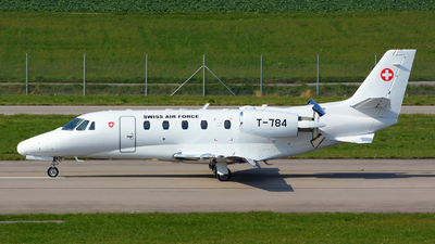 T-784 - Cessna 560XL Citation Excel - Switzerland - Air Force